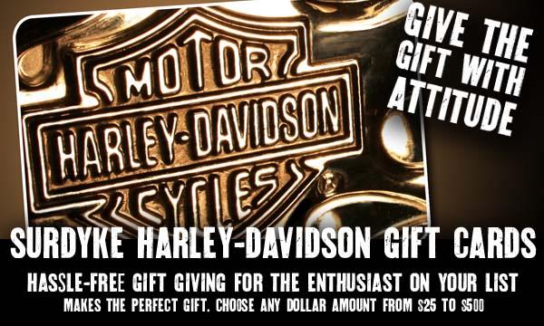 Gift Card   Surdyke Harley-Davidson®   Festus Missouri